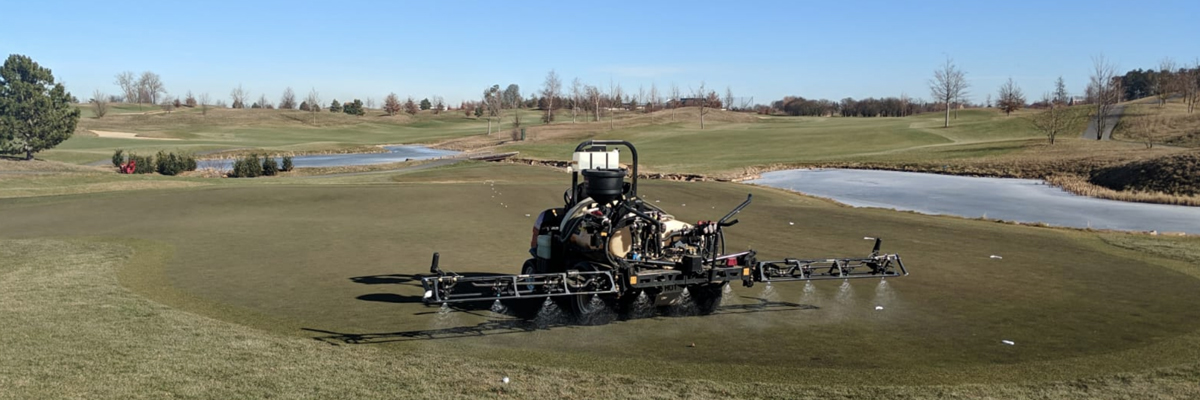 Albatross Fungicide Application